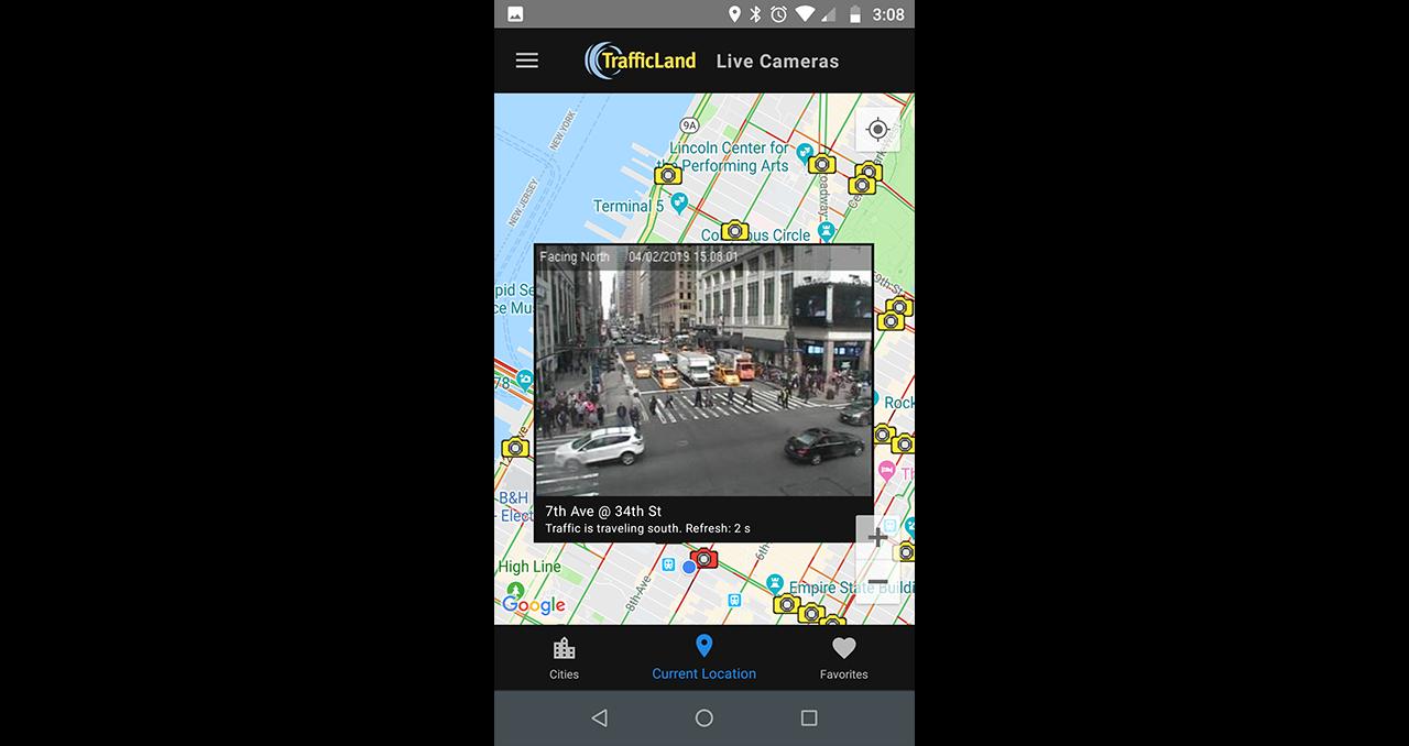 TrafficLand Live Cameras